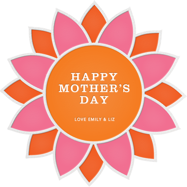 Sunflower - Pink and Orange - Jonathan Adler - Mother's Day