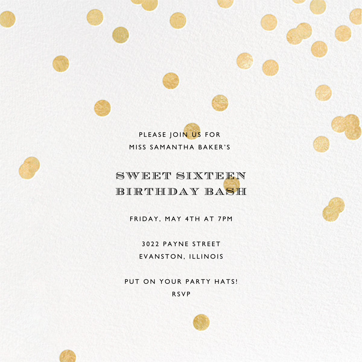 Come Celebrate - Ivory/Gold - kate spade new york - Birthday