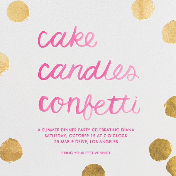 Cake Confetti - Sugar Paper - null