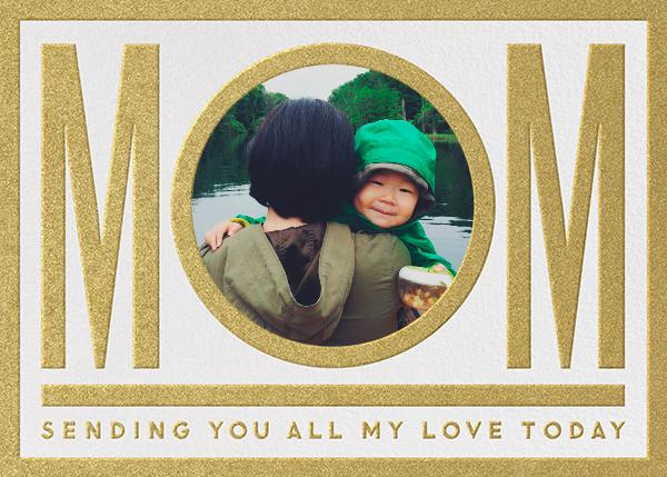 Mom - Gold - The Indigo Bunting