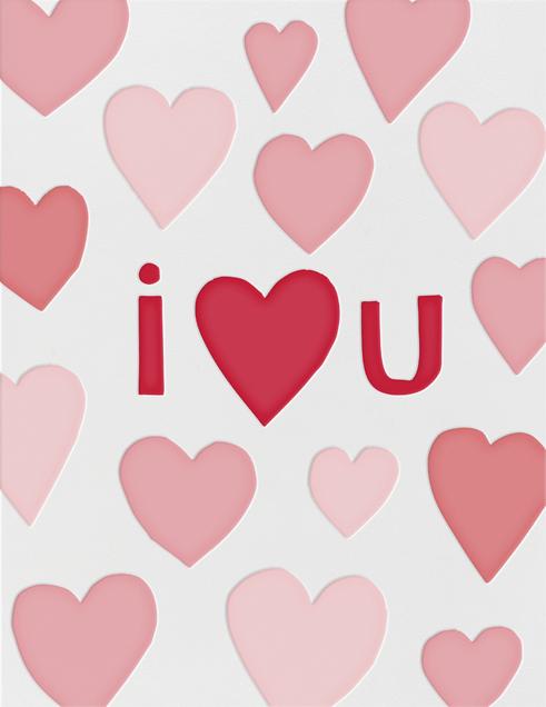 I Heart U - Linda and Harriett - Love cards