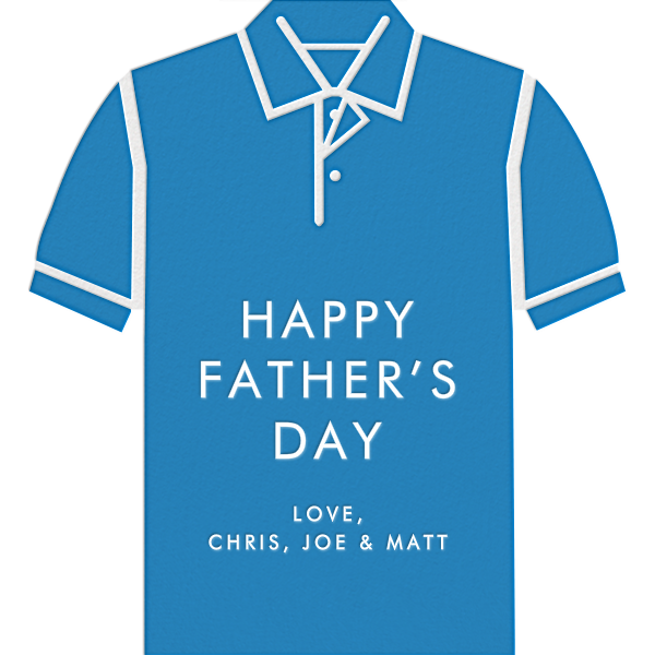 Polo - Blue - Jonathan Adler - Father's Day
