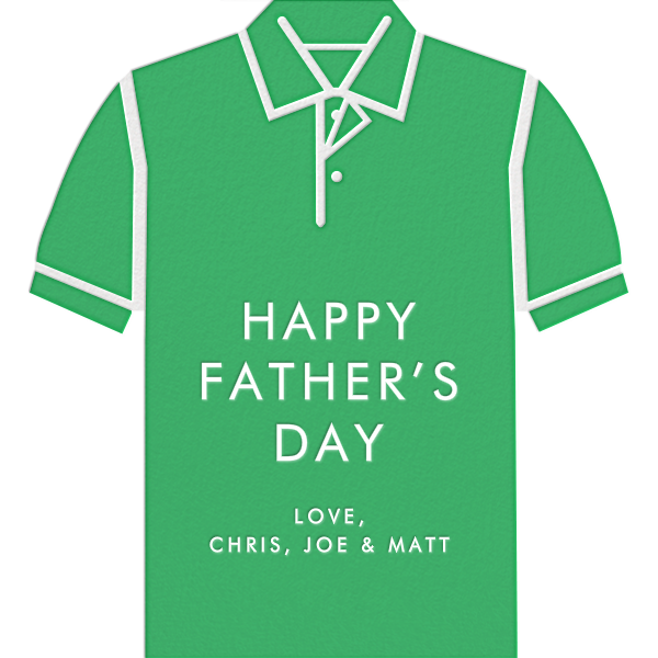 Polo - Green - Jonathan Adler - Father's Day