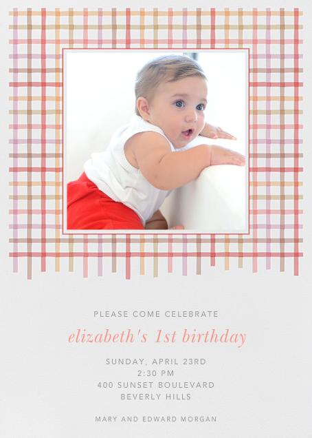 Tattersall - Blossom - Paperless Post - Kids' birthday