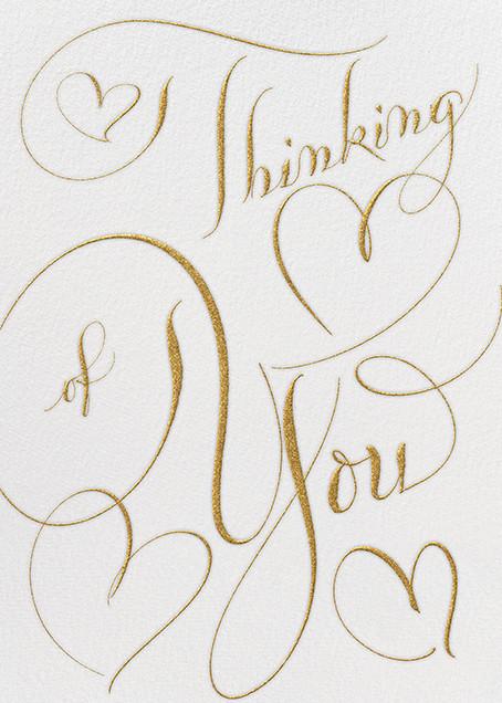 Thinking Of You - Ivory Gold - Bernard Maisner - Sympathy