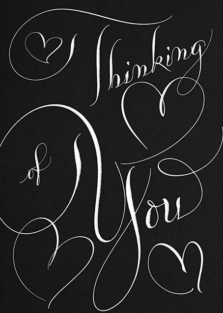 Thinking Of You - Black - Bernard Maisner