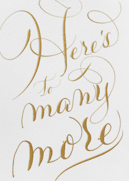 Here's To Many More - Ivory - Bernard Maisner - Birthday