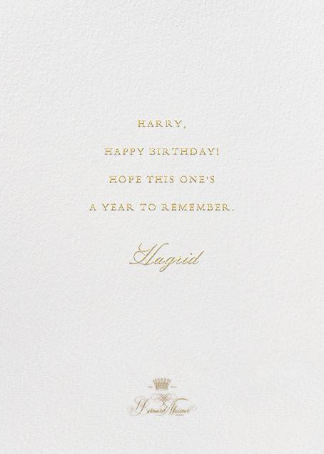 Here's To Many More - Ivory - Bernard Maisner - Birthday - card back