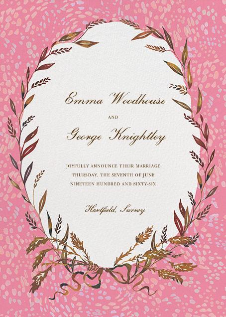 Wheaten - Happy Menocal - Wedding