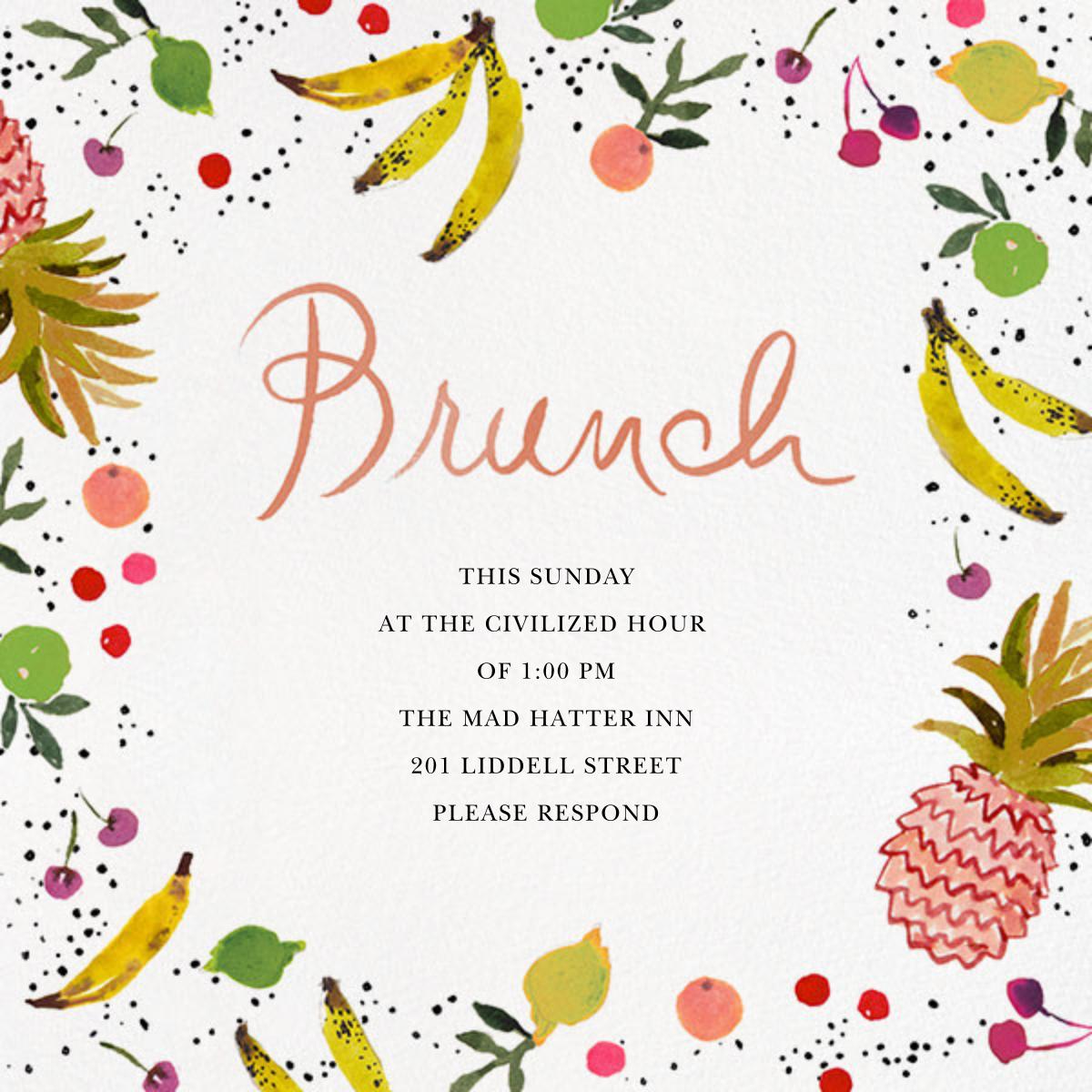 Tutti Frutti - Happy Menocal - Brunch