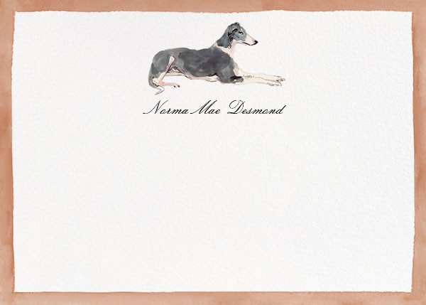Mr. Grey - Happy Menocal - Personal Stationery