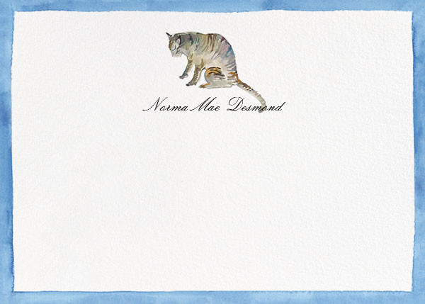 Mr. Stripes - Happy Menocal - Personalized stationery