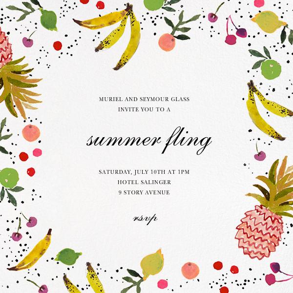 Tutti Frutti - Happy Menocal - Dinner party