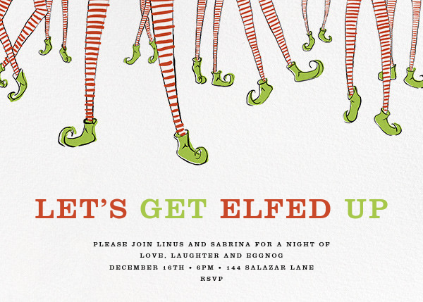 Twinkle Toes - Paperless Post - Holiday party
