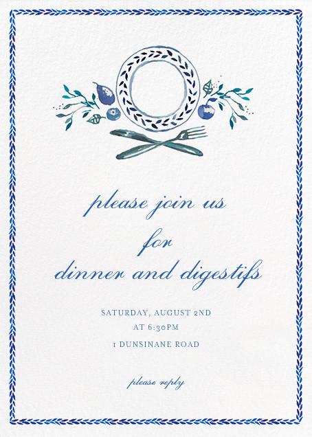 Plat du Jour - Happy Menocal - Dinner party