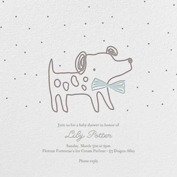 Pup's Night Out - Little Cube - Baby shower