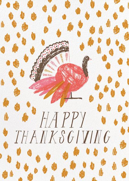 What a Beautiful Turkey - Yellow - Mr. Boddington's Studio - Thanksgiving