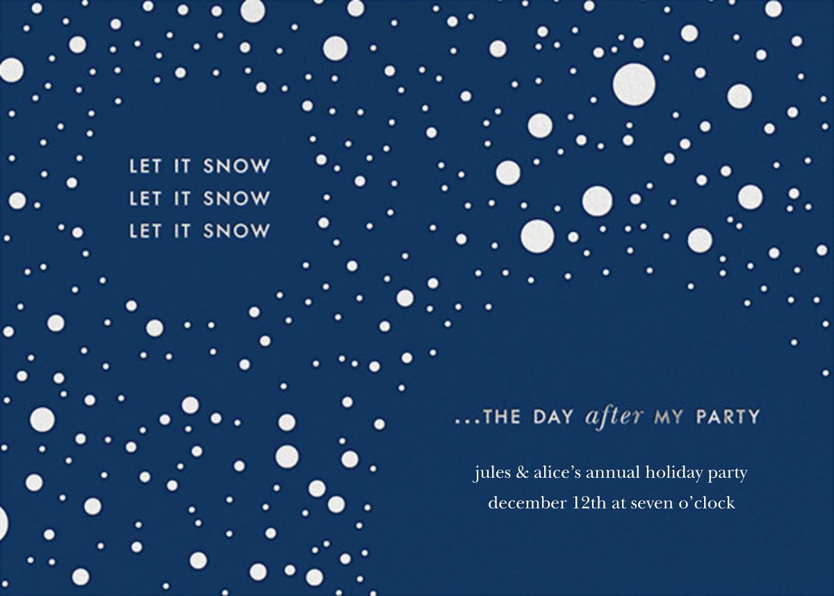 Let it Snow (Invite) - kate spade new york