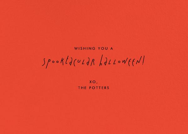 Little Monsters - Paperless Post - Halloween - card back