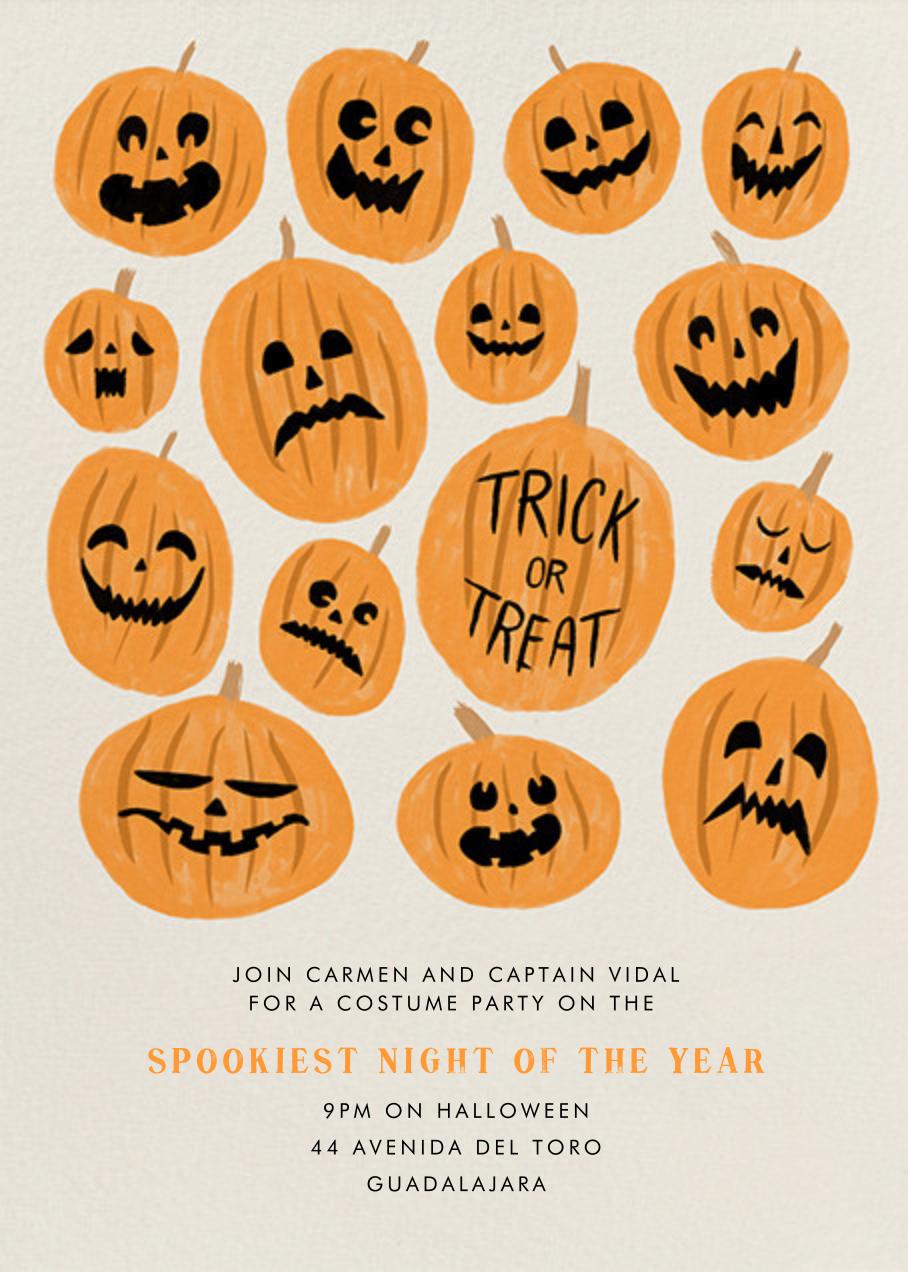 Pumpkinheads - Paperless Post - Halloween