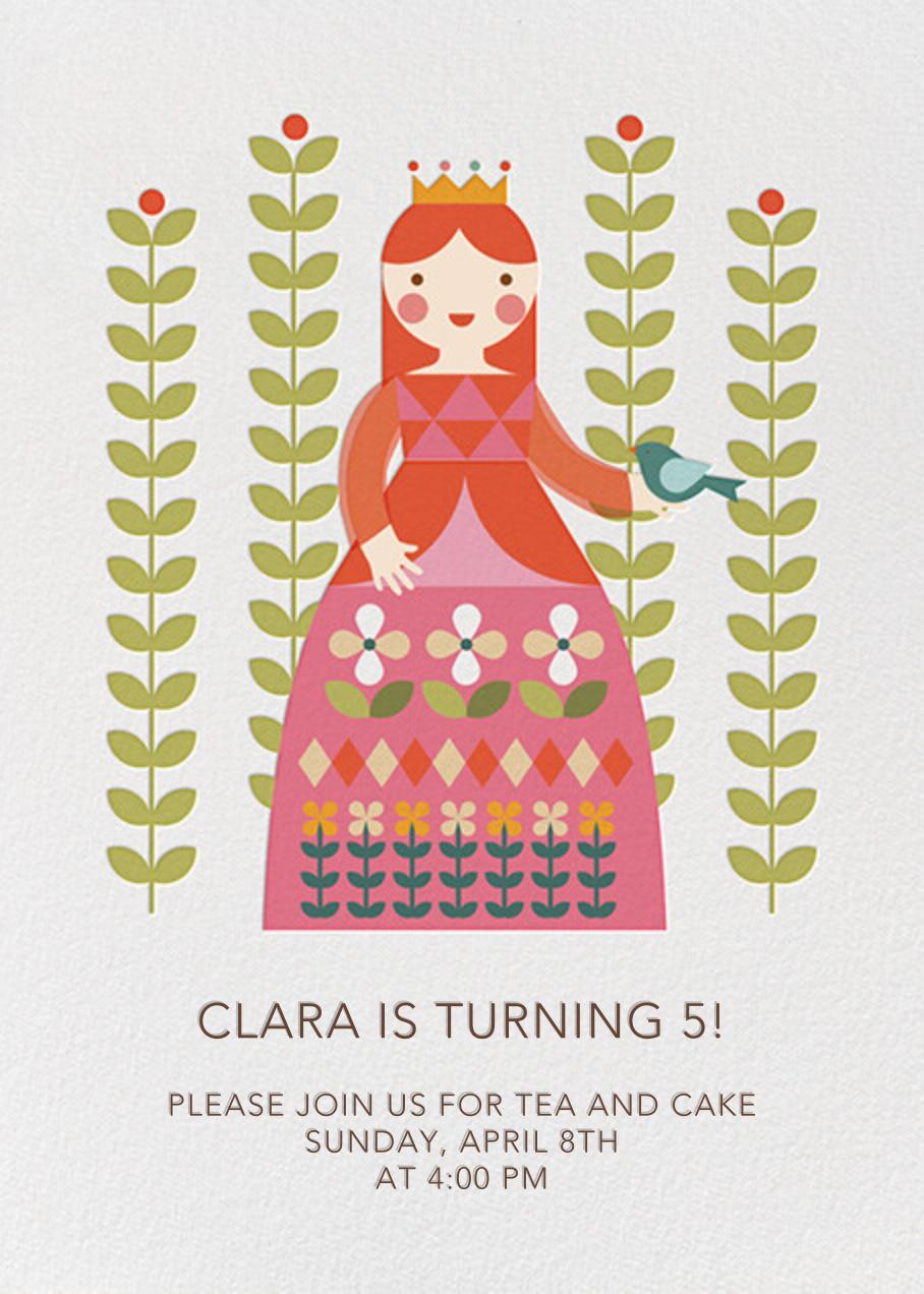 Princess and Flora - Fair - Petit Collage - Kids' birthday