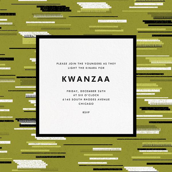 Ngazi - Paperless Post - Kwanzaa