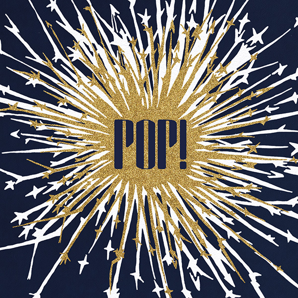 Pop - Navy - Paperless Post - New Year's Eve