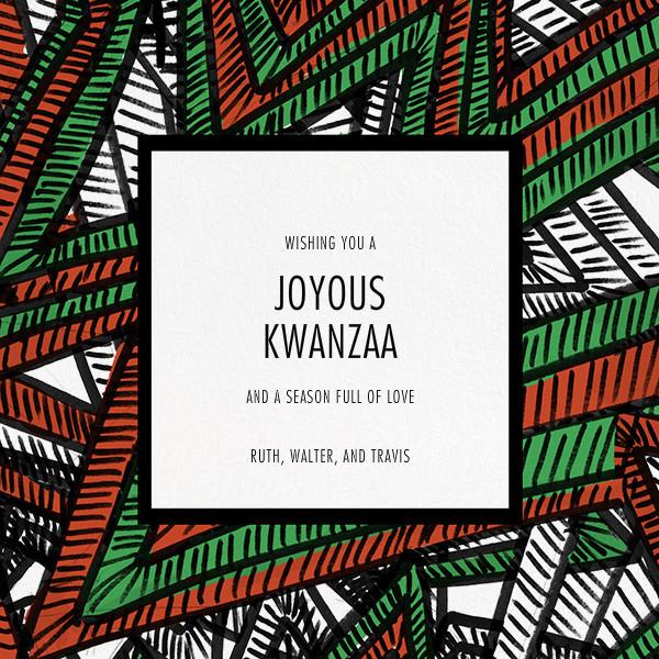 Boubou - Paperless Post - Kwanzaa