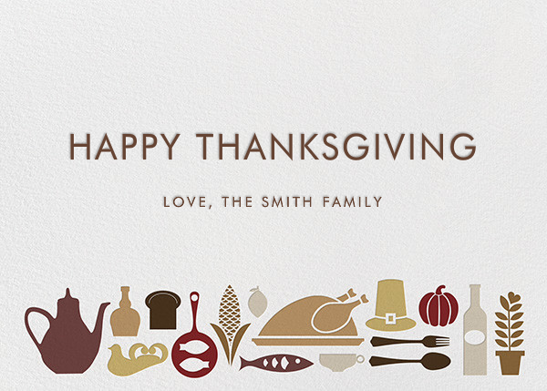 Turkey at the Table - Jonathan Adler - Thanksgiving