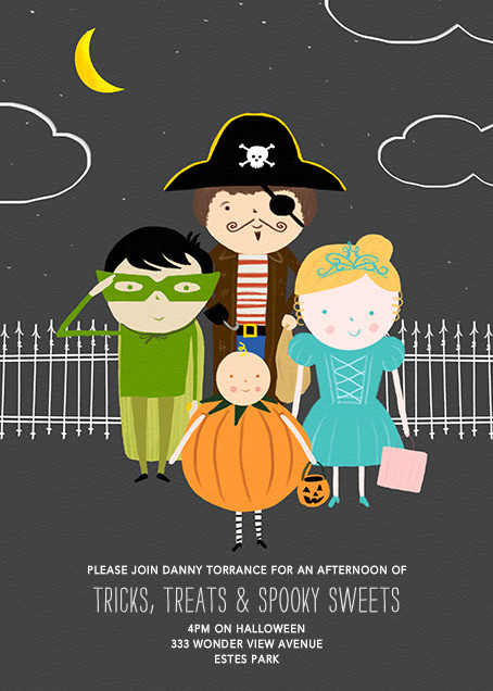 All Dressed Up - Paperless Post - Halloween