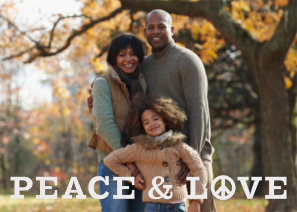 Peace and Love - White - Jonathan Adler