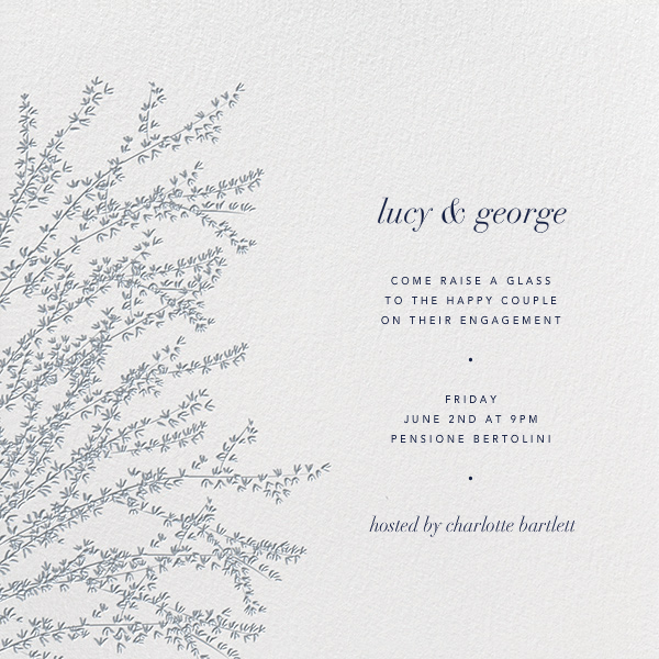 Forsythia (Pacific) - Paperless Post - Engagement party