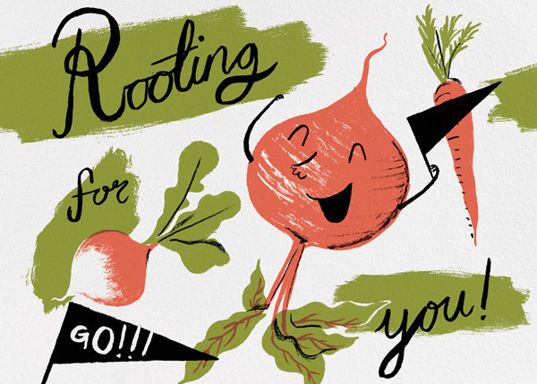 Rooting for You (Nicholas John Frith) - Red Cap Cards - Encouragement