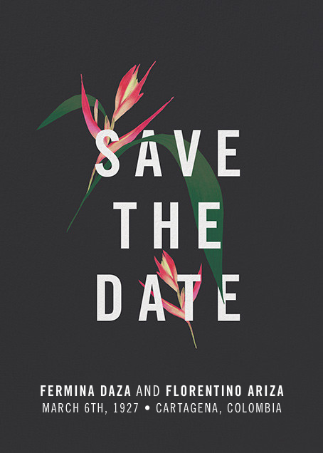 Paradisier (Save the Date) - Paperless Post - Save the date