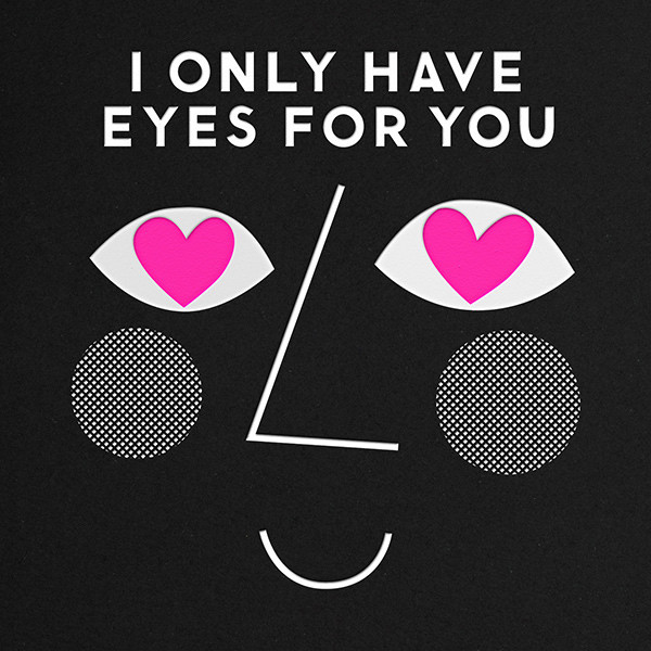 Only Have Eyes For You - The Indigo Bunting - Valentine's Day