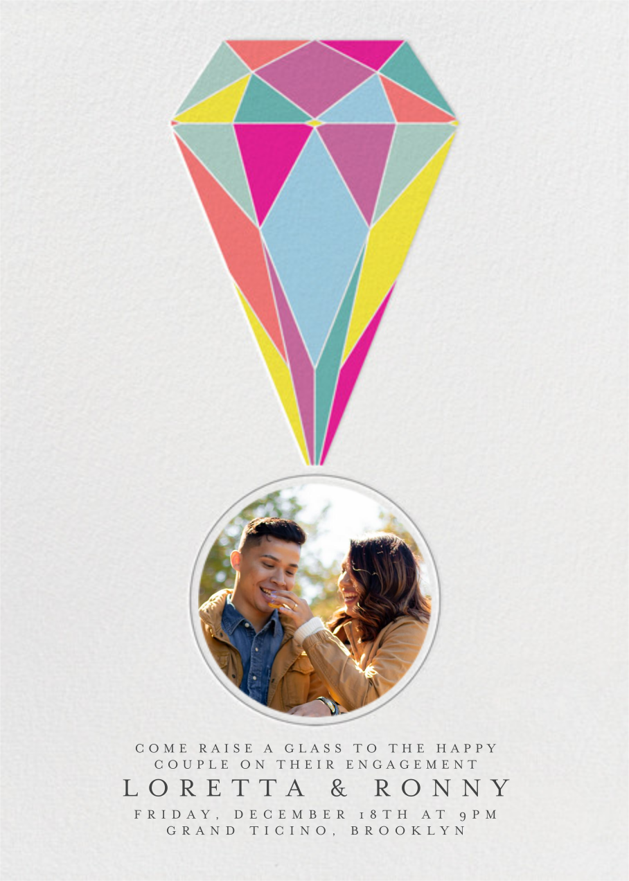 Put A Ring On It (Photo) - colors - Paperless Post - Engagement party