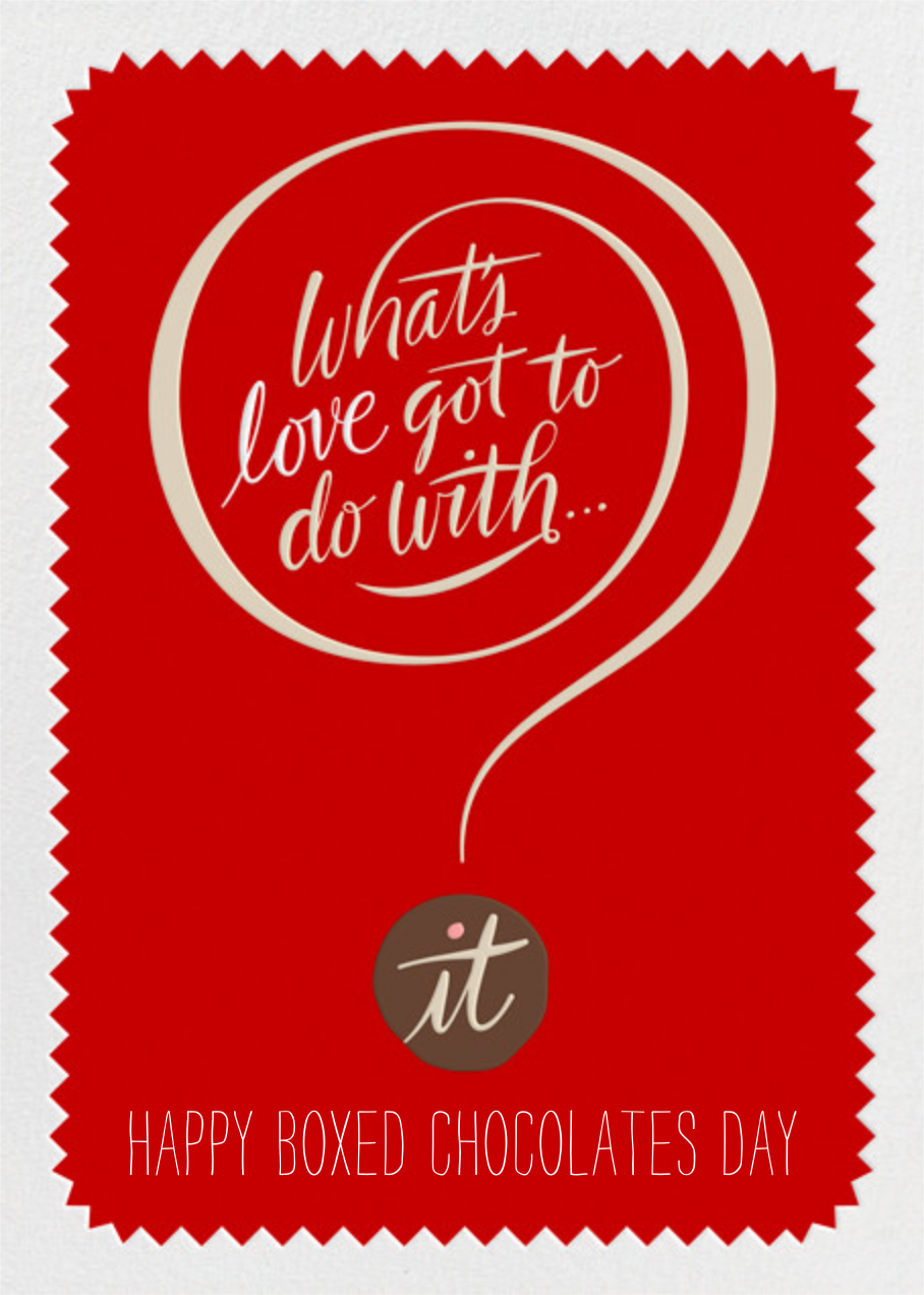 What's Love - Paperless Post - Valentine's Day