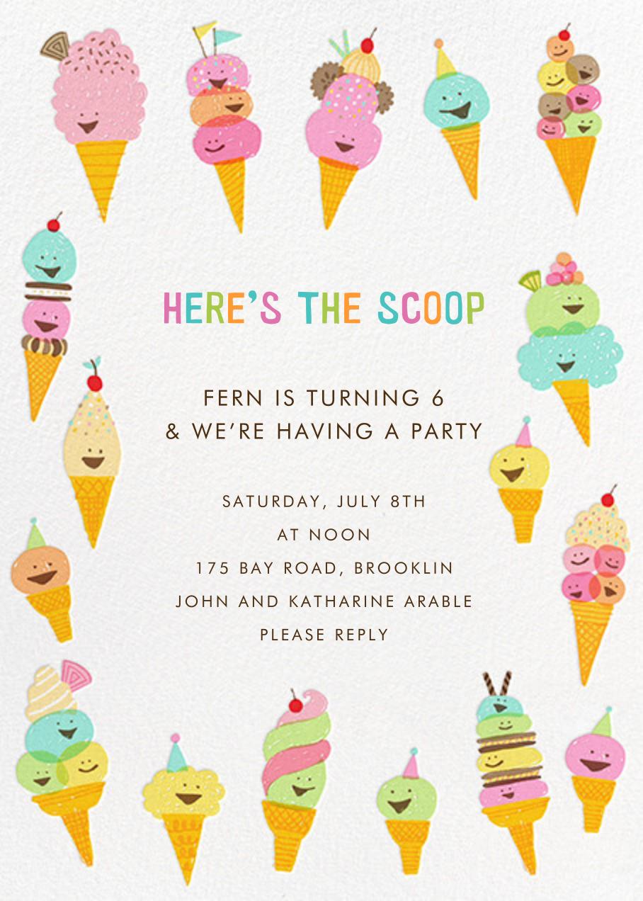 Happy Ice Creams - Hello!Lucky - Kids' birthday