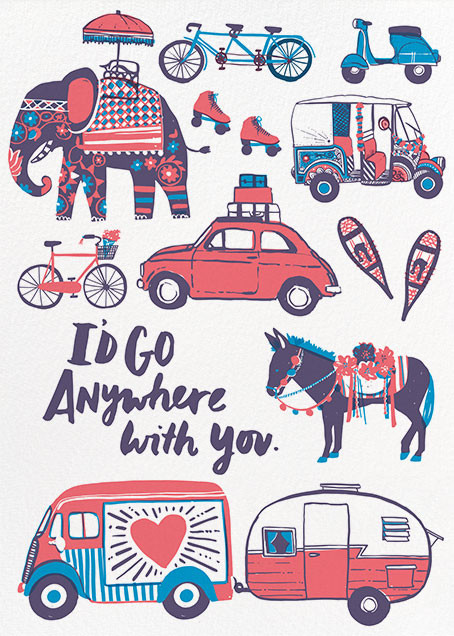 Anywhere with You - Hello!Lucky - Love and romance