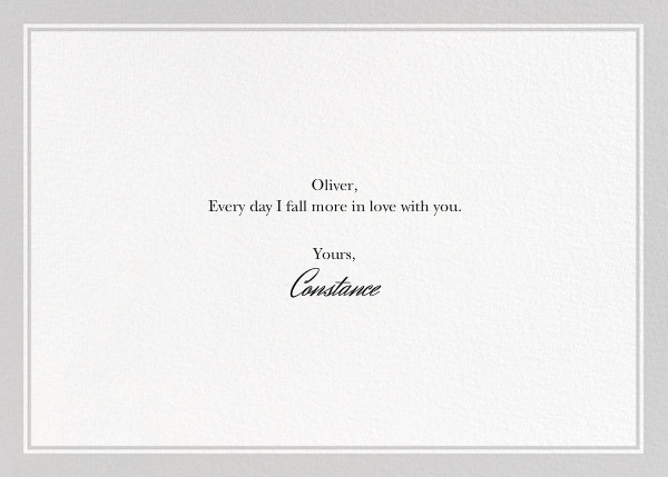 I Love Her - The New Yorker - Valentine's Day - card back