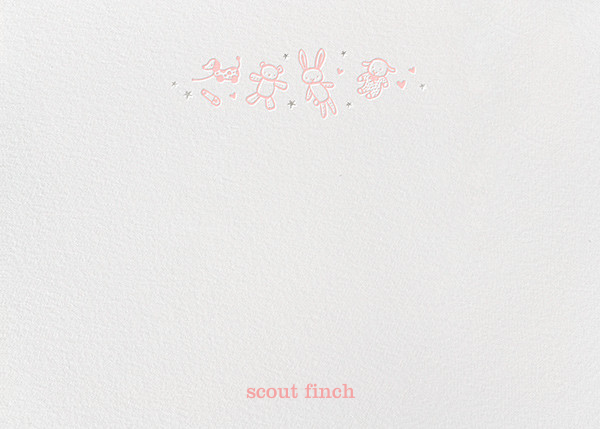 Baby Things (Stationery) - Pink - Hello!Lucky