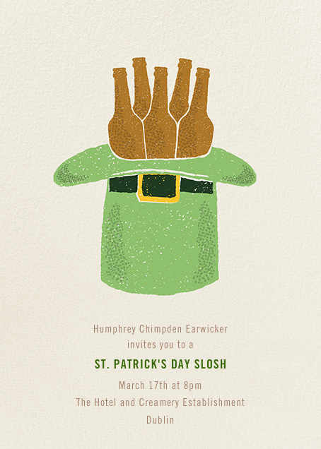 Hat Trick - Paperless Post - St. Patrick's Day