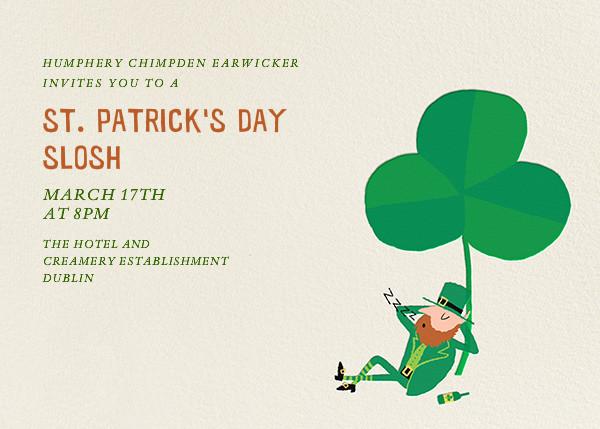 Clover Dozer - Paperless Post - St. Patrick's Day