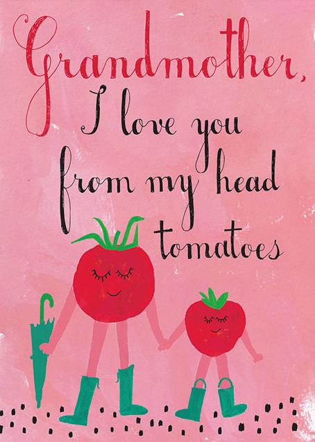 Tomatoes Love Tomatoes - Mr. Boddington's Studio - Mother's Day