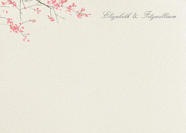 Japanese Cherry (Stationery) - Felix Doolittle - Personalized stationery