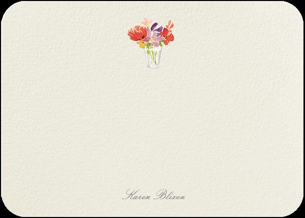 Kitchen Bouquet (Stationery) - Felix Doolittle - Personalized stationery