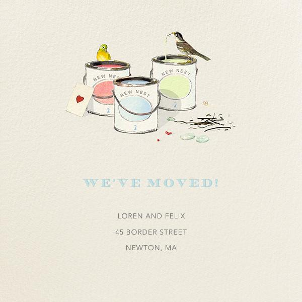 Paint Samples - Felix Doolittle - Moving