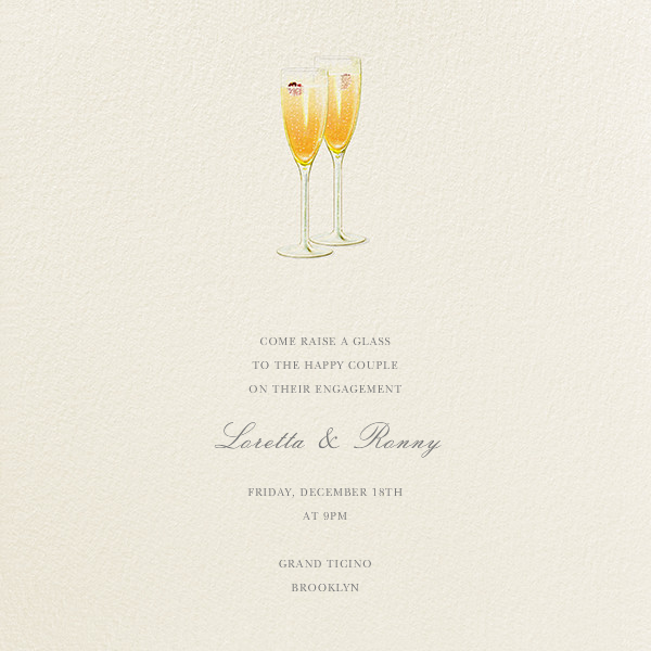 Kir Royale - Felix Doolittle - Engagement party