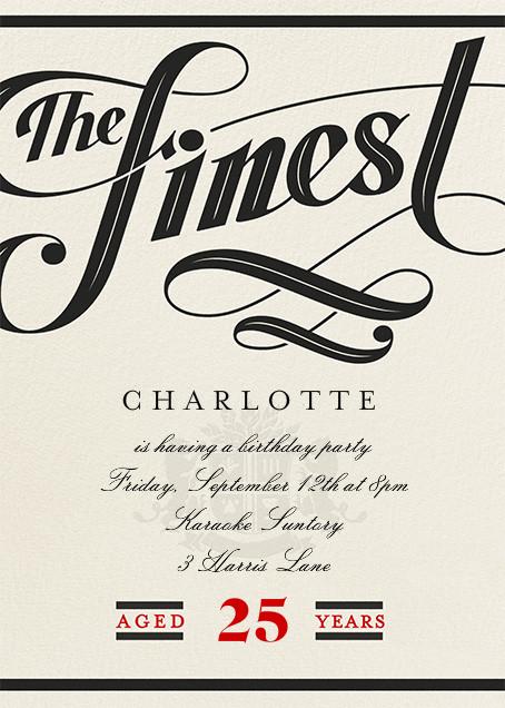 Barrel-Aged - Paperless Post - Wine tasting invitations