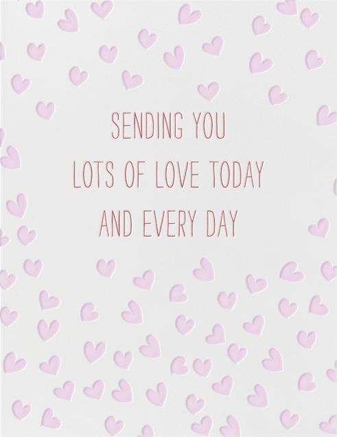 Sending Hearts - Linda and Harriett - Mother's Day